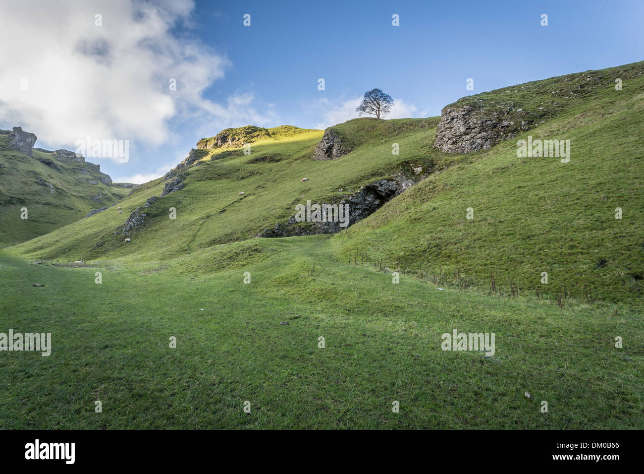 Winnets Pass In The Peak District National Park Sheffield - Stock Image