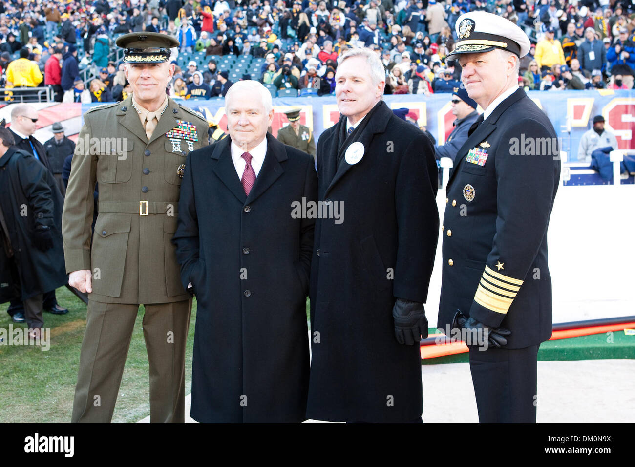 Dec. 12, 2009 - Philadelphia, Pennsylvania, U.S - 12 December 2009: Commandant of the Marine Corps Gen. James T. Stock Photo