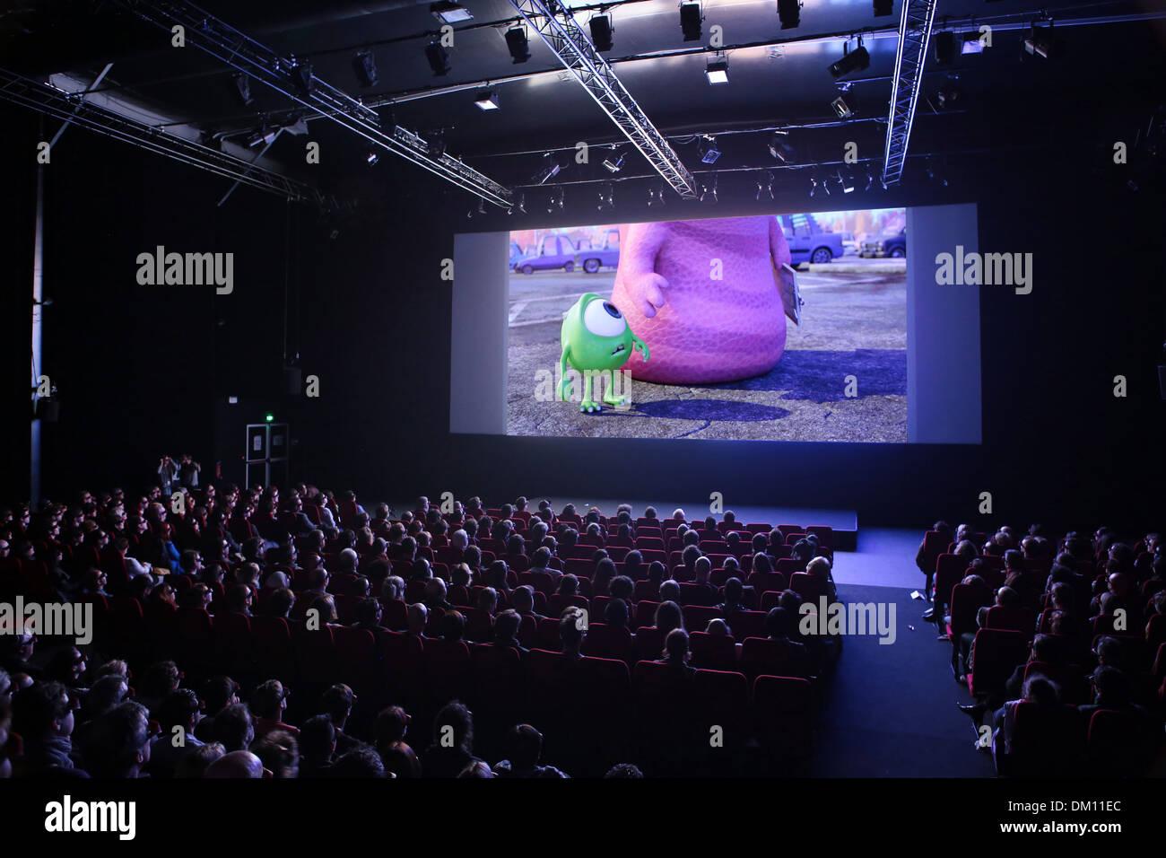 Annecy: opening of the Annecy International Animation Film Festival (2013/06/10) - Stock Image