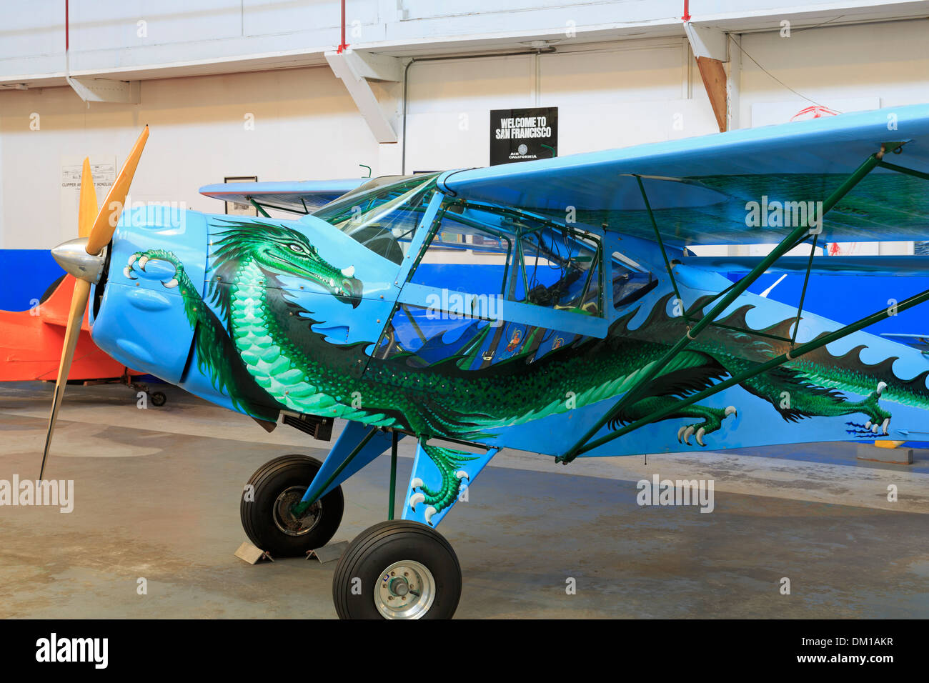 Oakland Aviation Museum,Oakland,California,USA - Stock Image