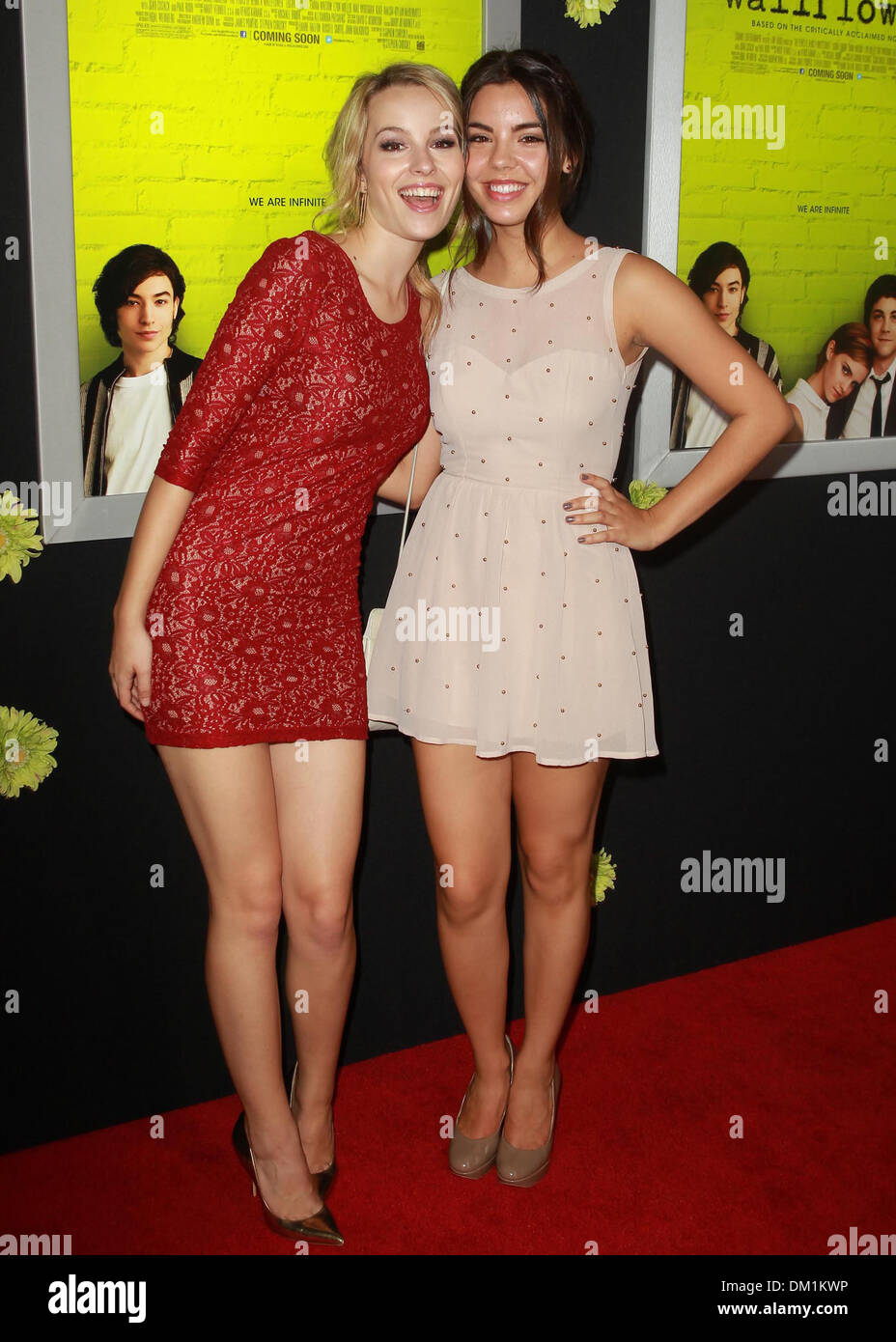 Bridgit Mendler Samantha Boscarino Los Angeles Premiere Of The Perks Of Being A Wallflower At Arclight Cinerama Dome