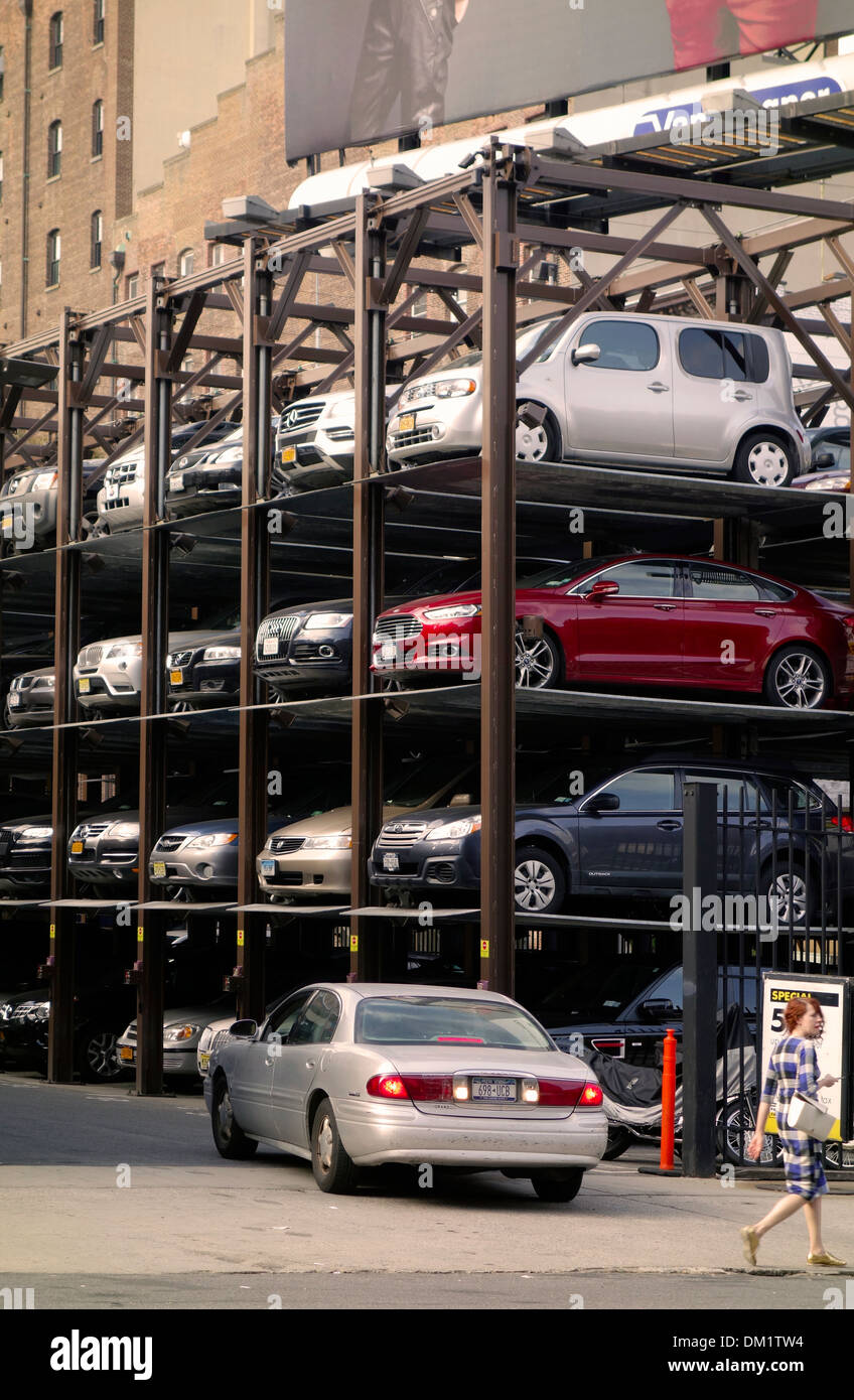 Multi Level Stacked Parking Stock Photos Multi Level Stacked