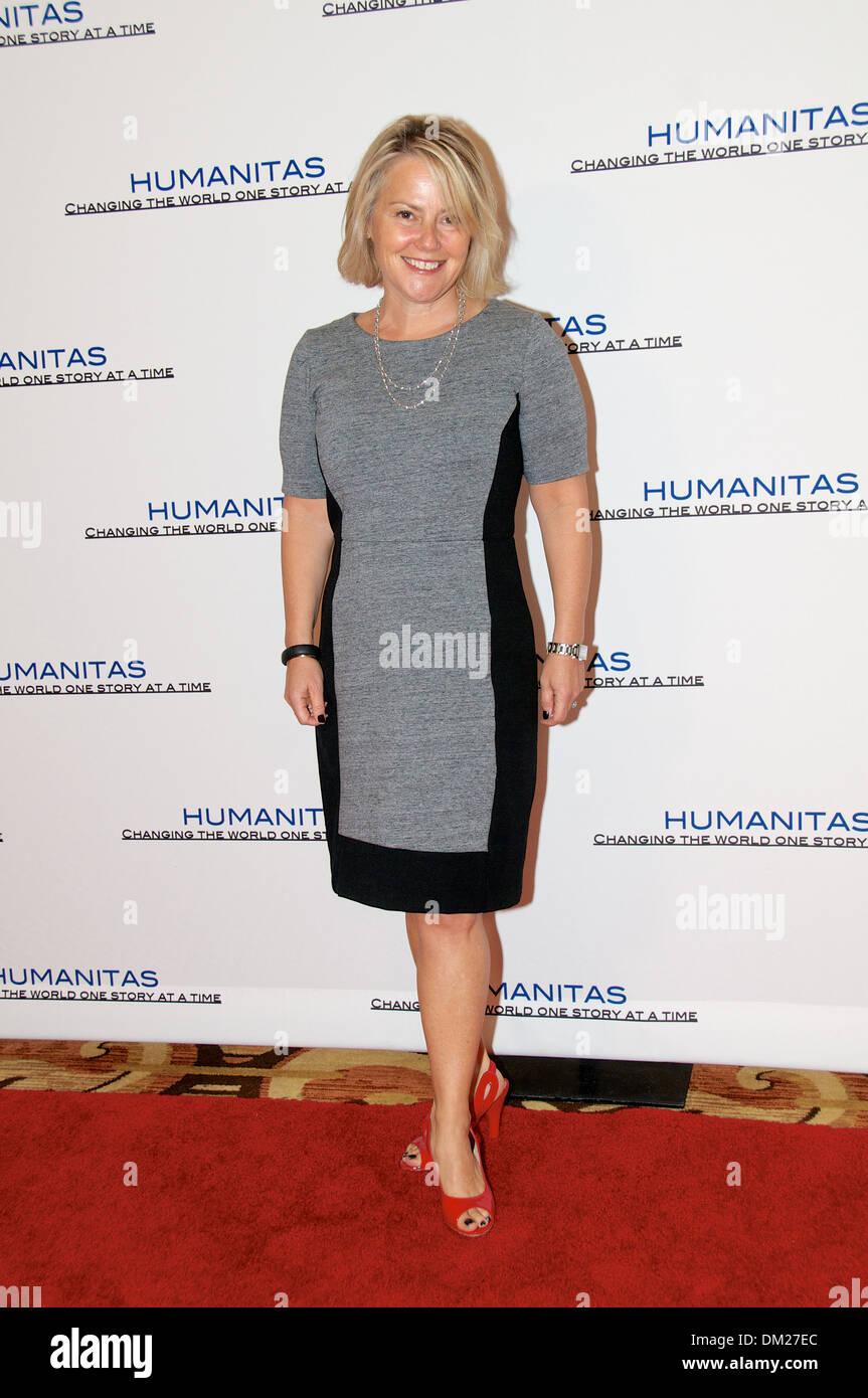 39th Annual Humanitas luncheon 2013 Jenny Bicks - Stock Image