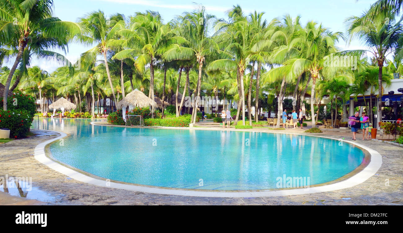 Swimming Pool In A Resort Varadero Cuba