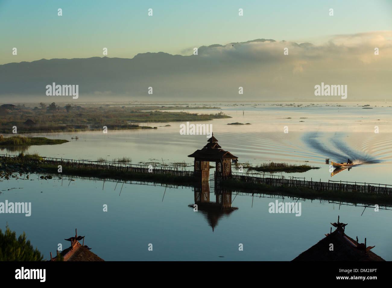 Inle Lake, Myanmar (Burma) - Stock Image