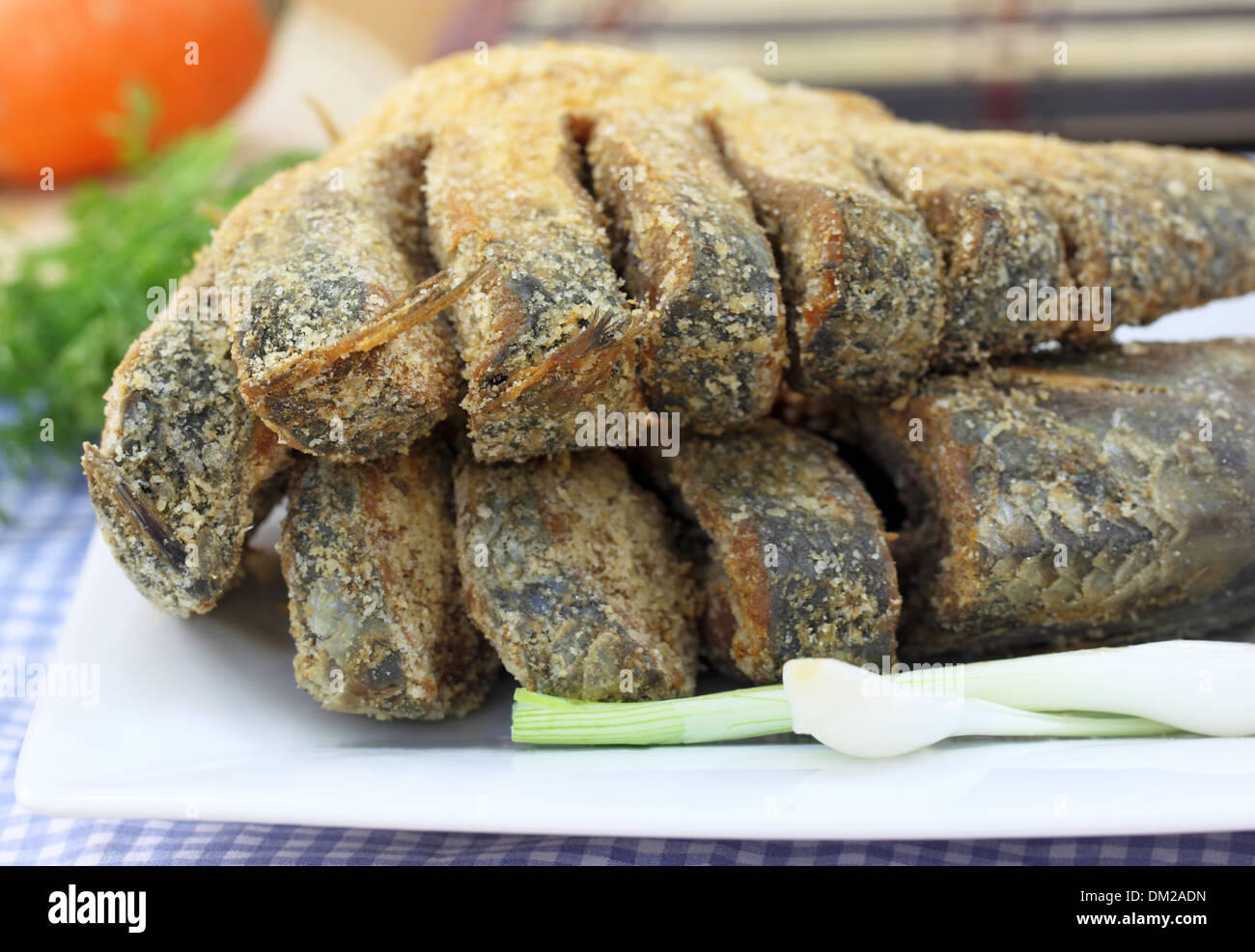 Uncooked preserved Ilish fish of Southeast Asia - Stock Image
