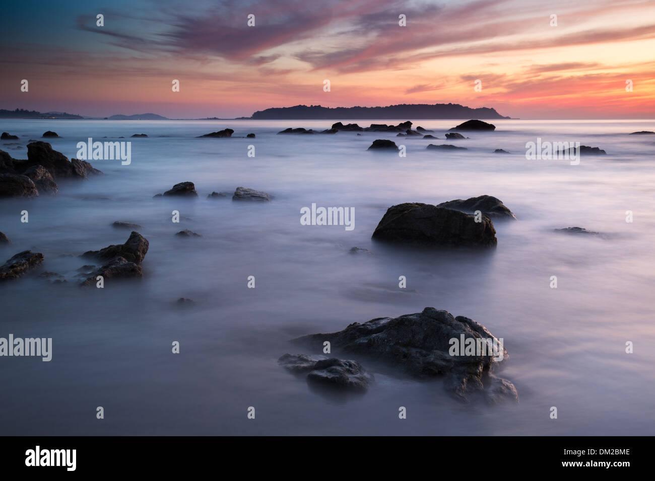 Ngapali Beach, Rakhine, Myanmar (Burma) - Stock Image