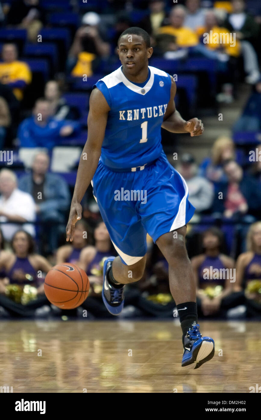 quality design 4cd1a bfe97 Kentucky at LSU; Kentucky guard Darius Miller dribbles the ...