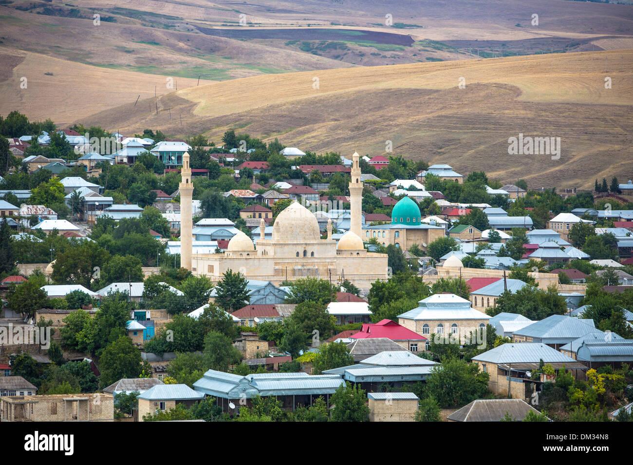 Azerbaijan Caucasus Eurasia Cuma Shamakhi Architecture City Stock Photo Alamy
