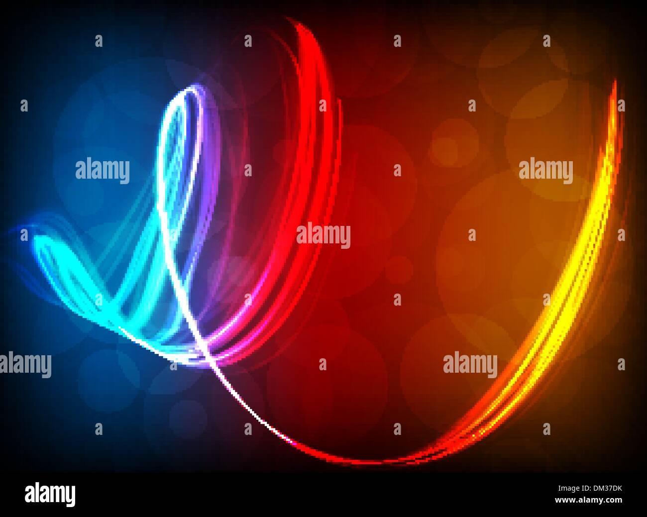 Abstract lights. - Stock Image