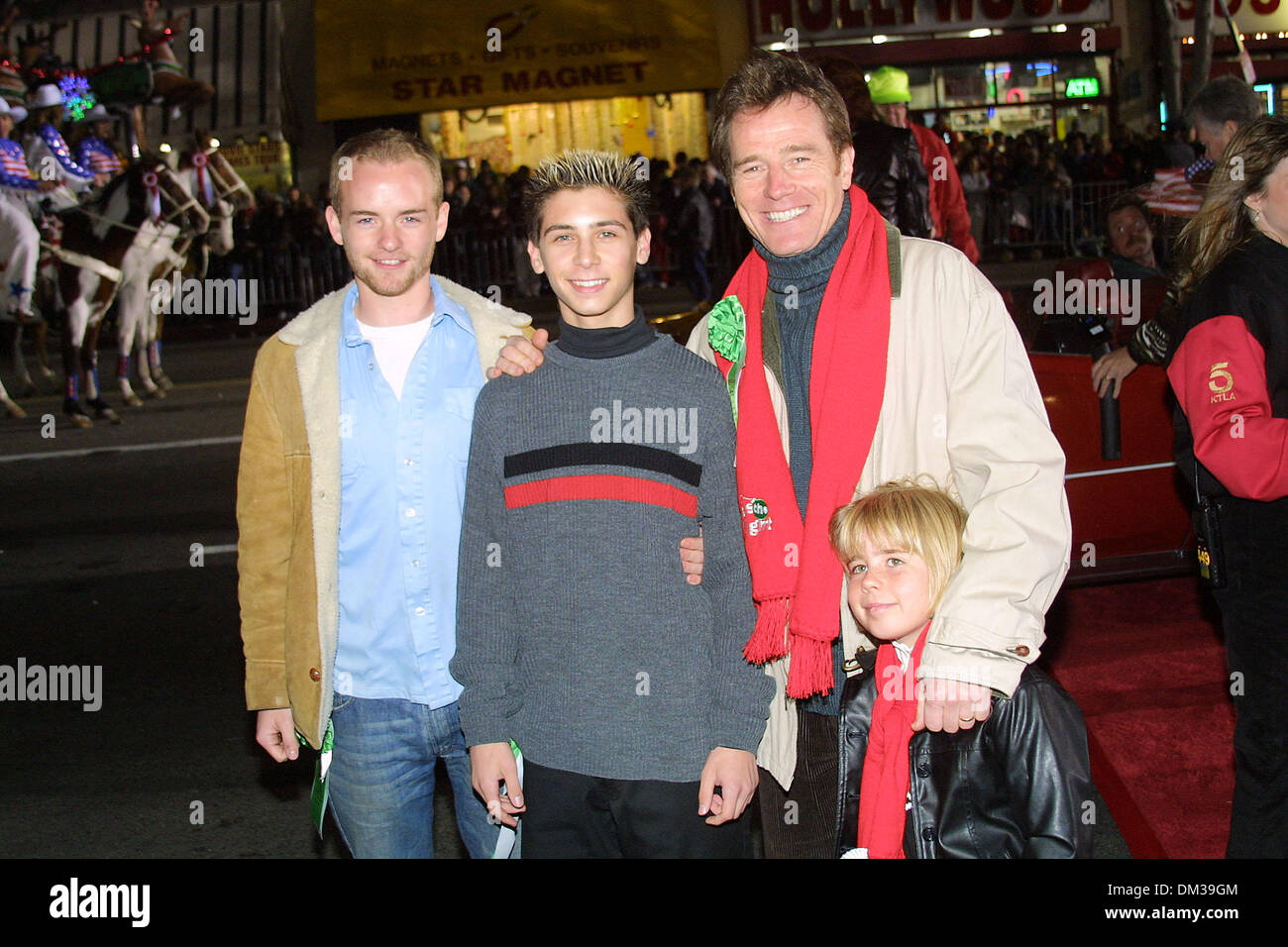 Malcolm In The Middle Christmas.Nov 25 2001 70th Hollywood Christmas Parade On Hollywood