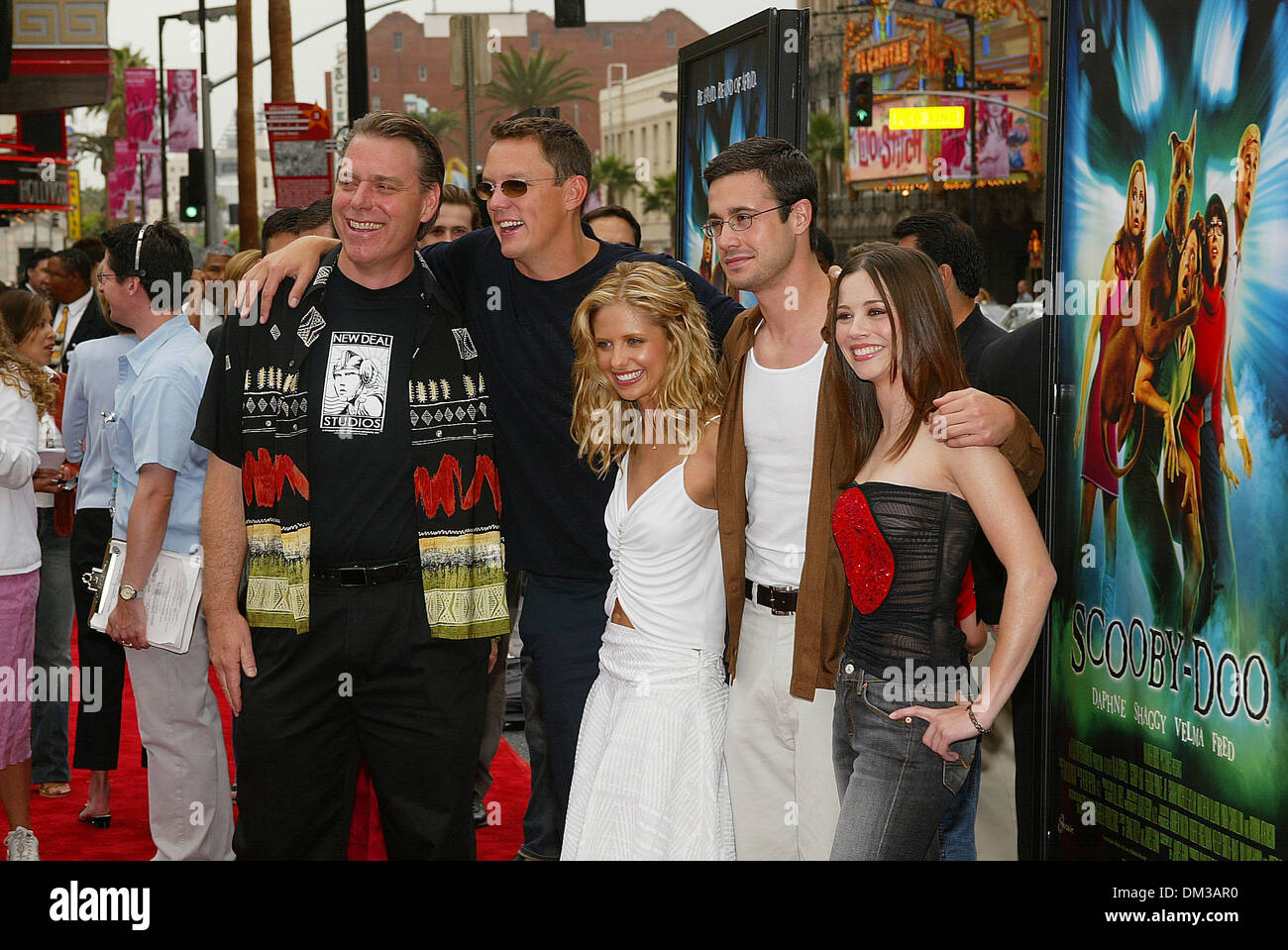 June 8 2002 Los Angeles California Scooby Doo World Premiere At Stock Photo Alamy