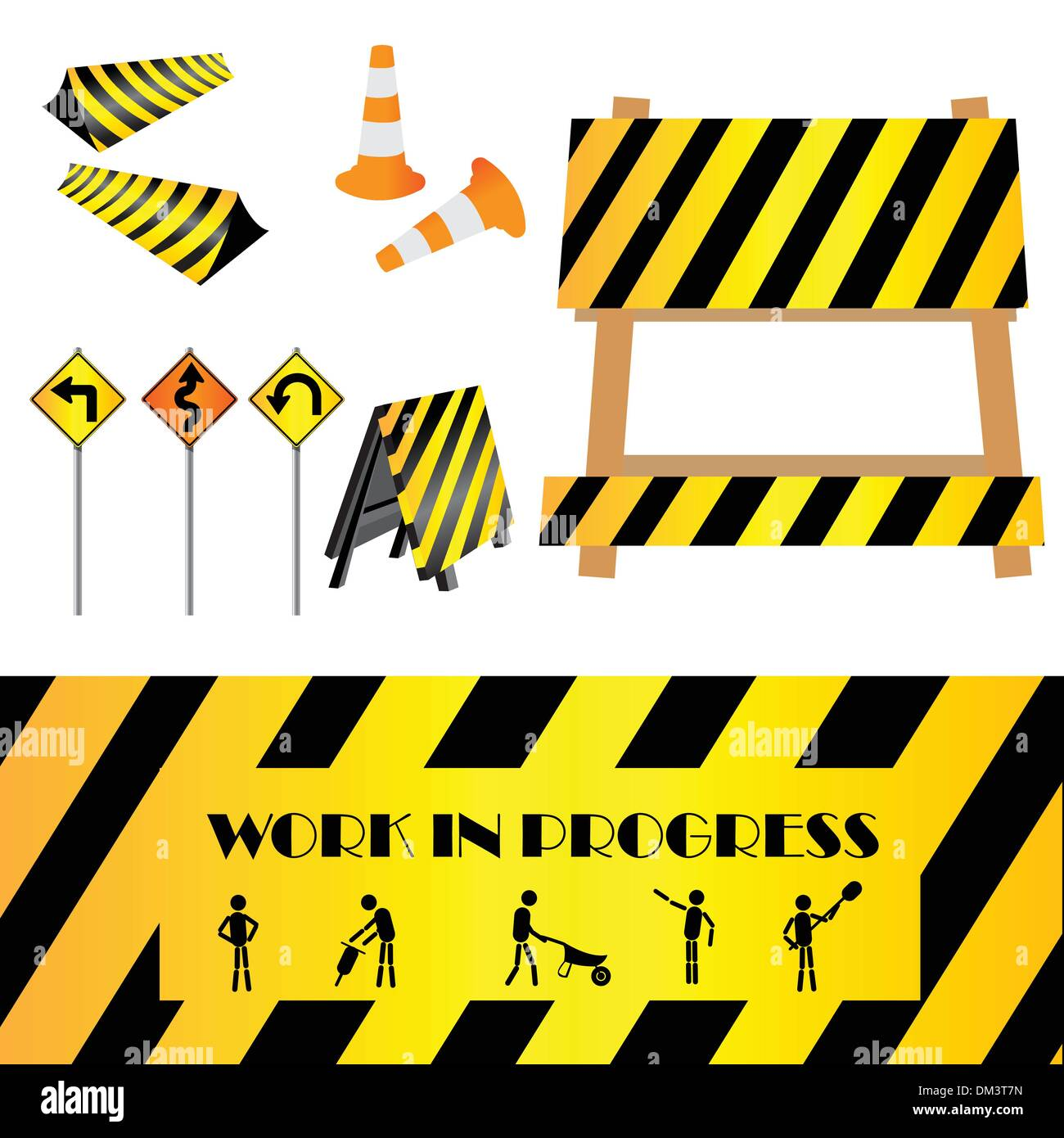 Work in progress - Stock Vector