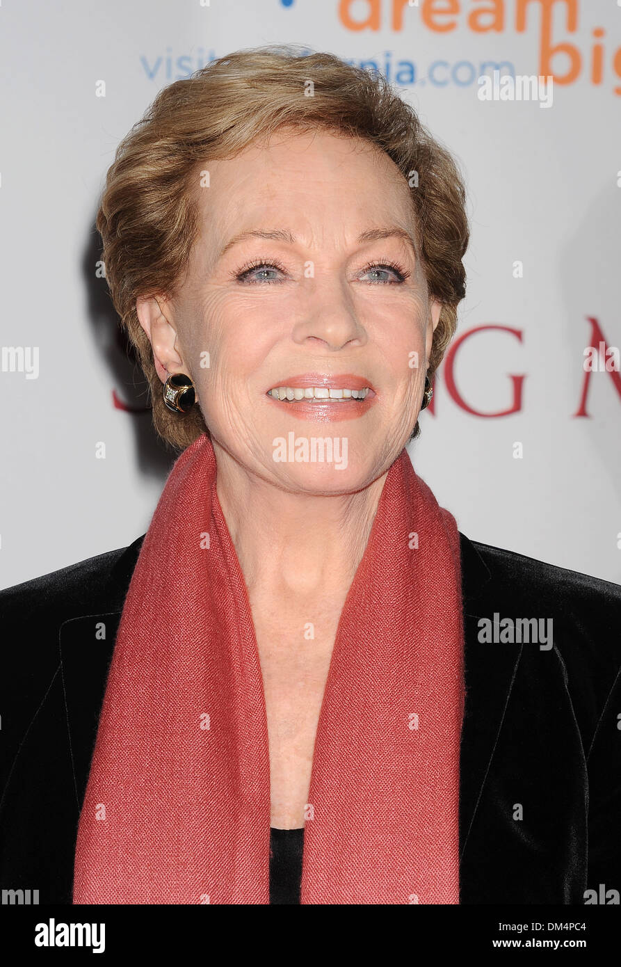 JULIE ANDREWS   English film actress in December 2013. Photo Jeffrey Mayer - Stock Image