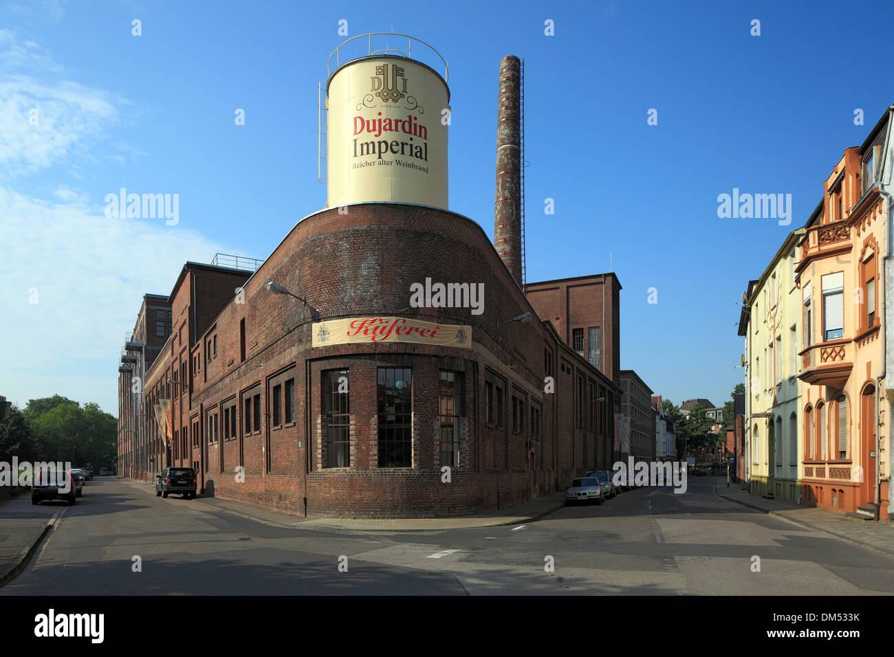 Germany Krefeld Rhine Lower Rhine Rhineland North Rhine-Westphalia Krefeld-Uerdingen Dujardin Imperial wine distillery - Stock Image