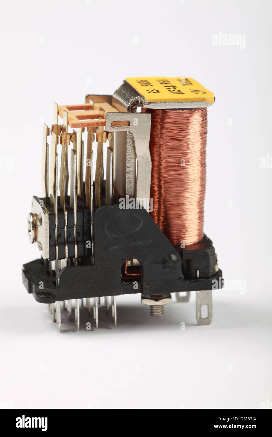 Electronic Relay - Stock Image