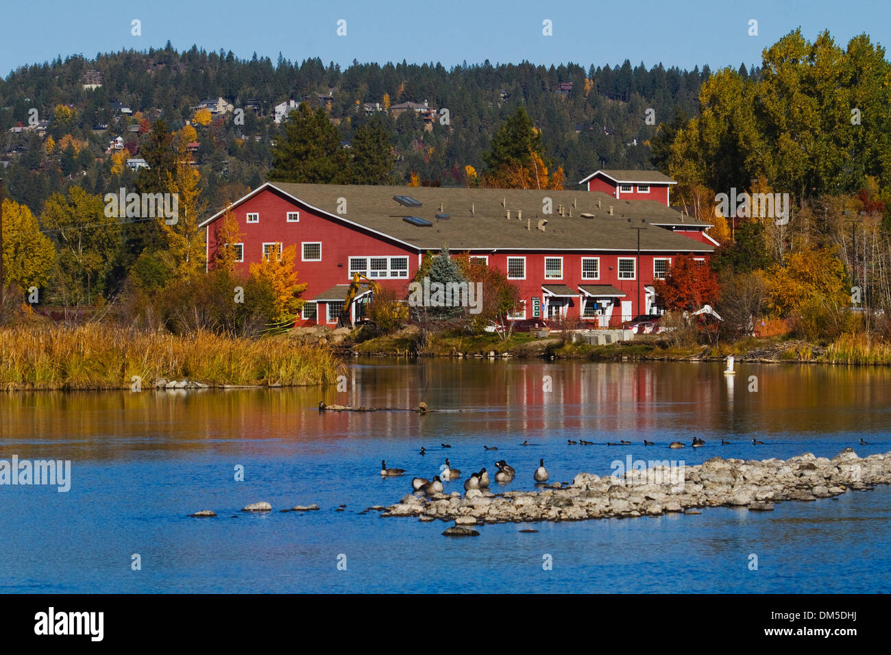 Deschutes River Bend Oregon USA - Stock Image