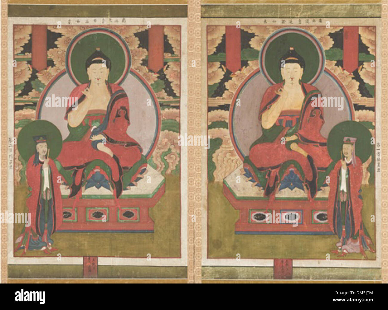 First and Second of the Buddhas of the Seven Stars of the Big Dipper  (Chilseong