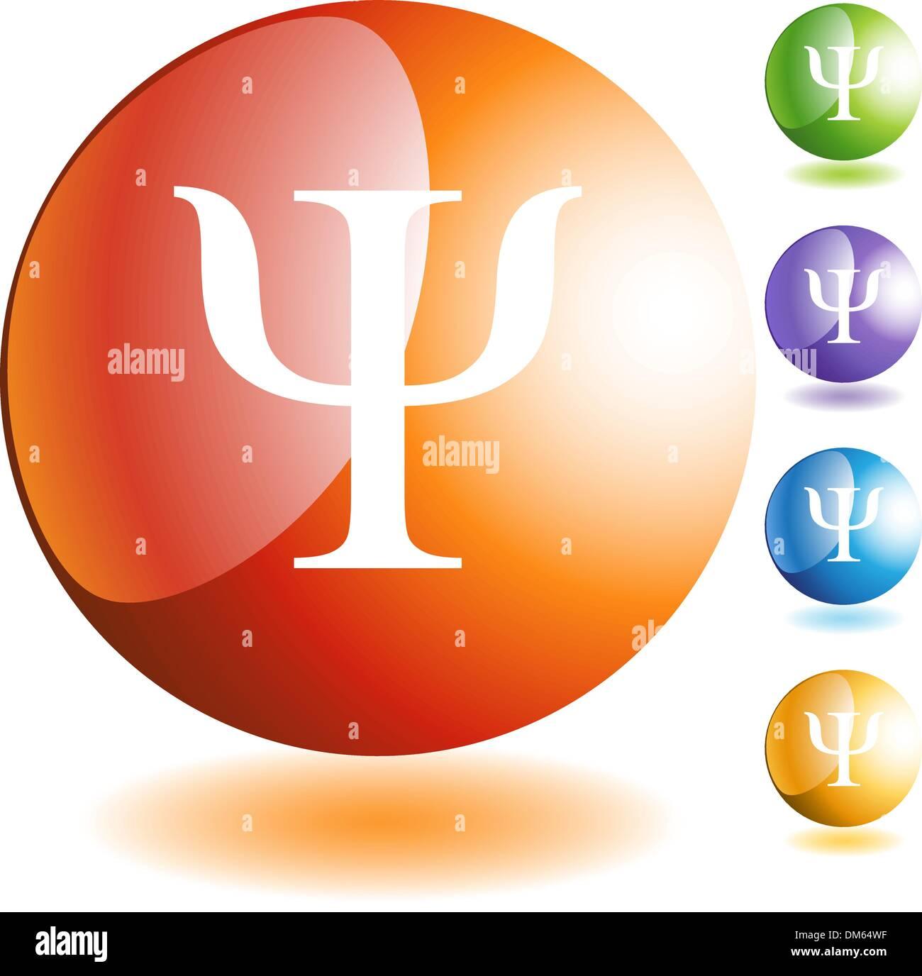 Greek Fraternity Symbol Icon - Stock Vector
