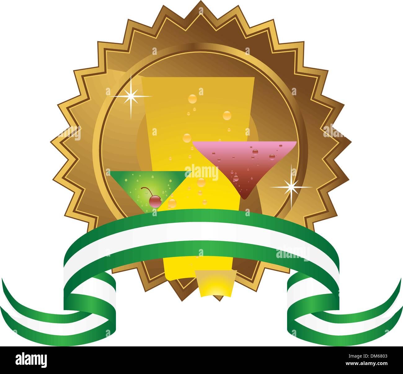 Drinks Icon Stock Vector