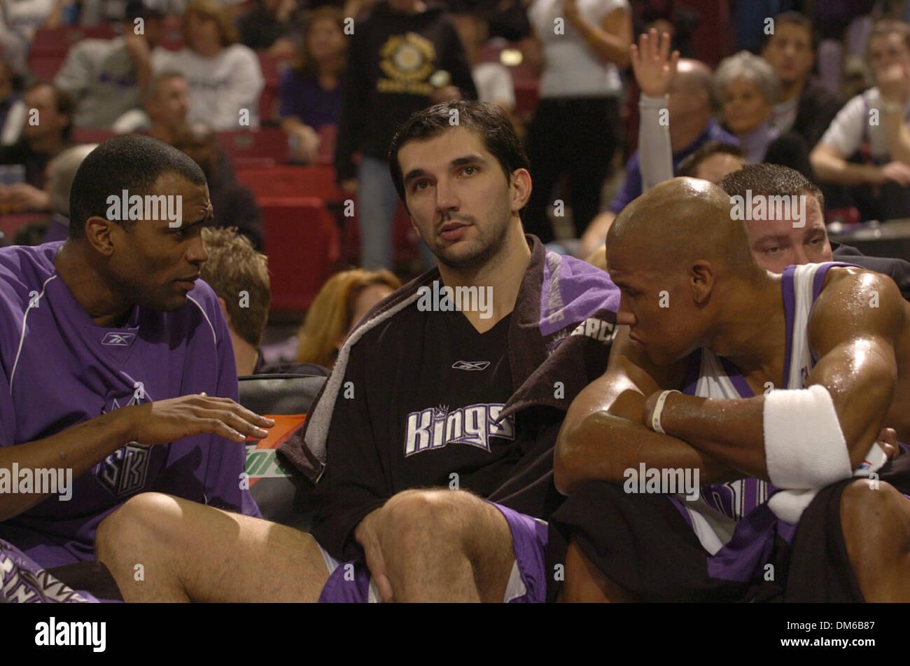 Jan 23 2005 Sacramento Ca Usa Kings Forward Peja Stojakovic