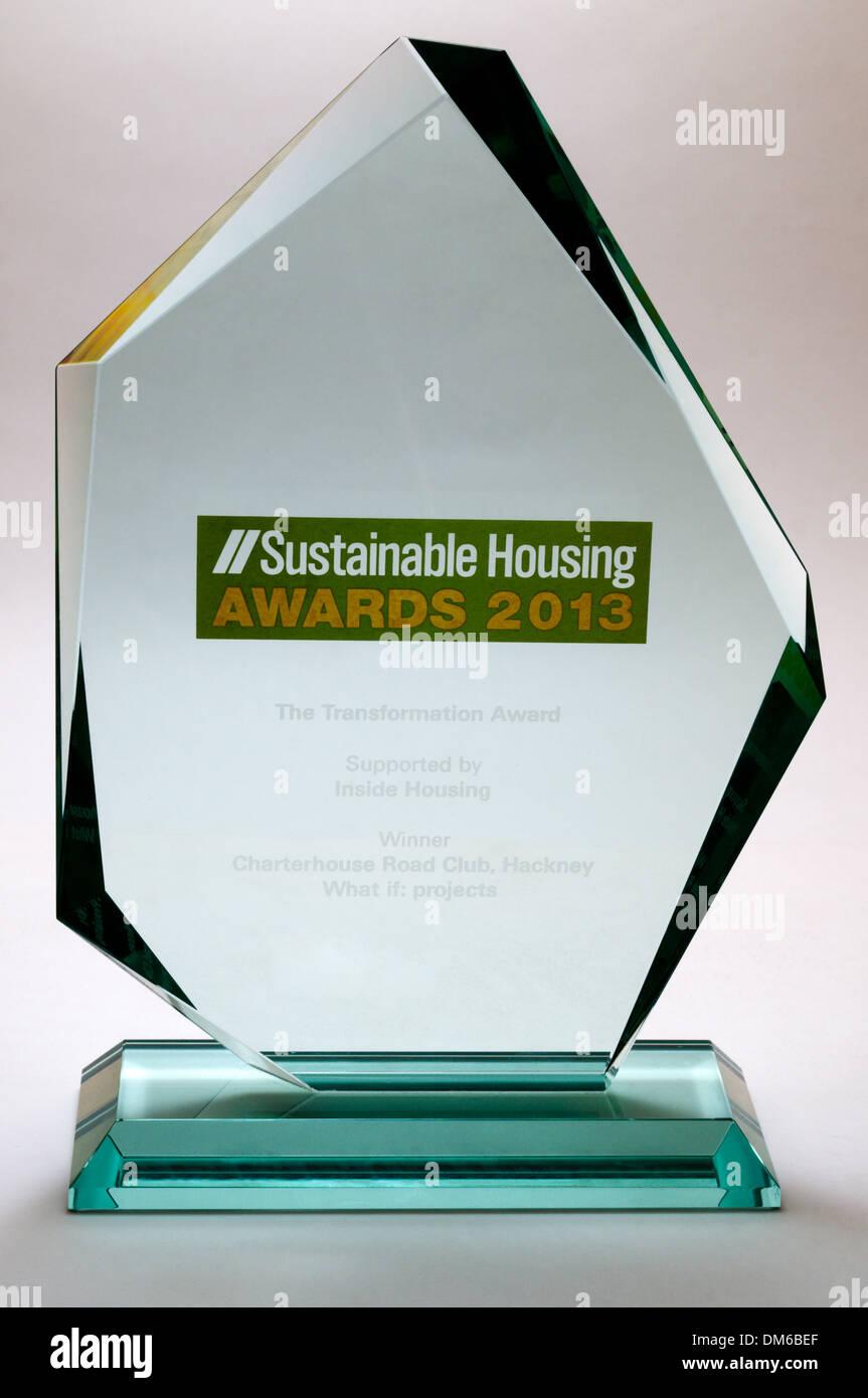 Sustainable Housing Awards 2013. - Stock Image