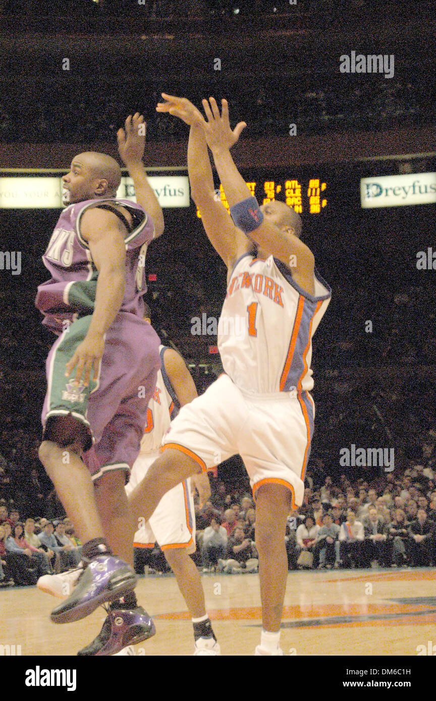 official photos 4460f 517b1 Feb 16, 2005; New York, NY, USA; PENNY HARDAWAY at the NY ...