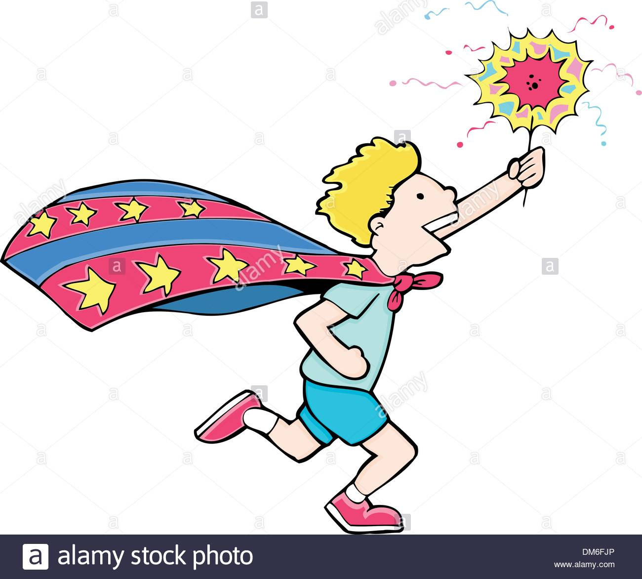 Independence Day Hero - Stock Vector