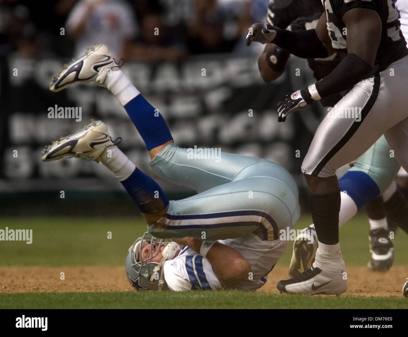 9d26c78c9ea Oct 02, 2005; Oakland, CA, USA; NFL Football: Dallas Cowboys
