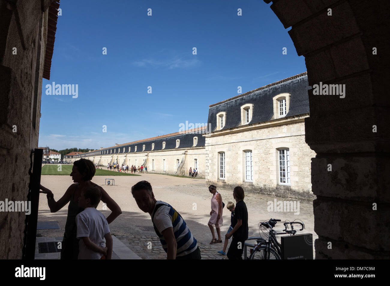 CORDERIE ROYALE (ROYAL ROPE FACTORY), 17TH CENTURY BUILDING TODAY HOUSING THE INTERNATIONAL CENTRE OF THE SEA, ROCHEFORT, CHARENTE-MARITIME (17), FRANCE - Stock Image