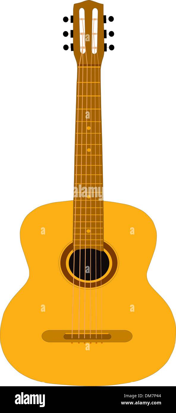 The Guitar. - Stock Vector