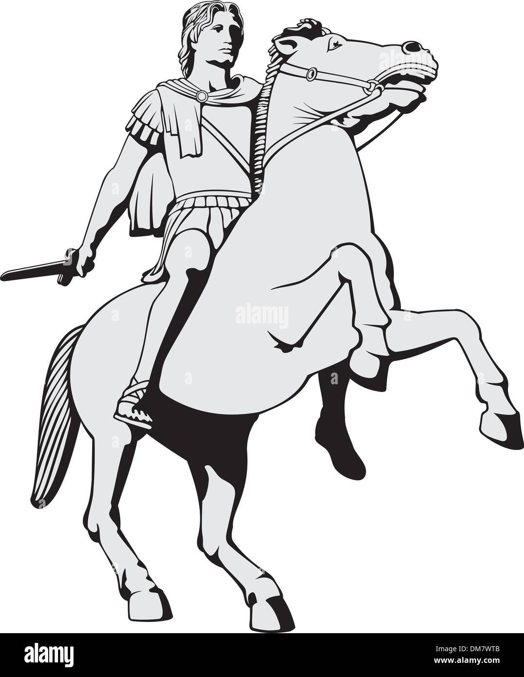 Alexander the Great - Stock Vector