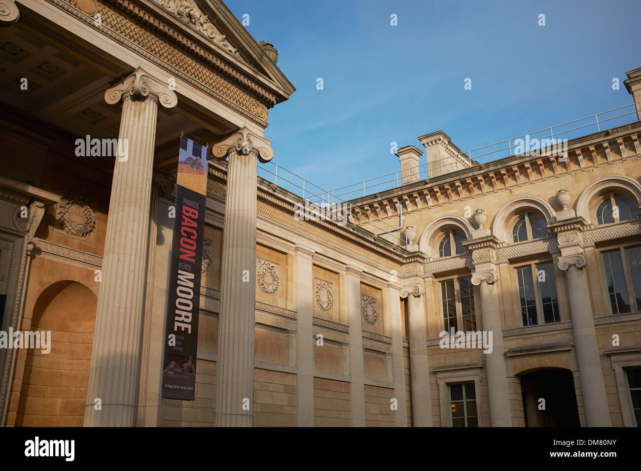 Exterior of the Ashmolean Museum in Oxford city centre - Stock Image