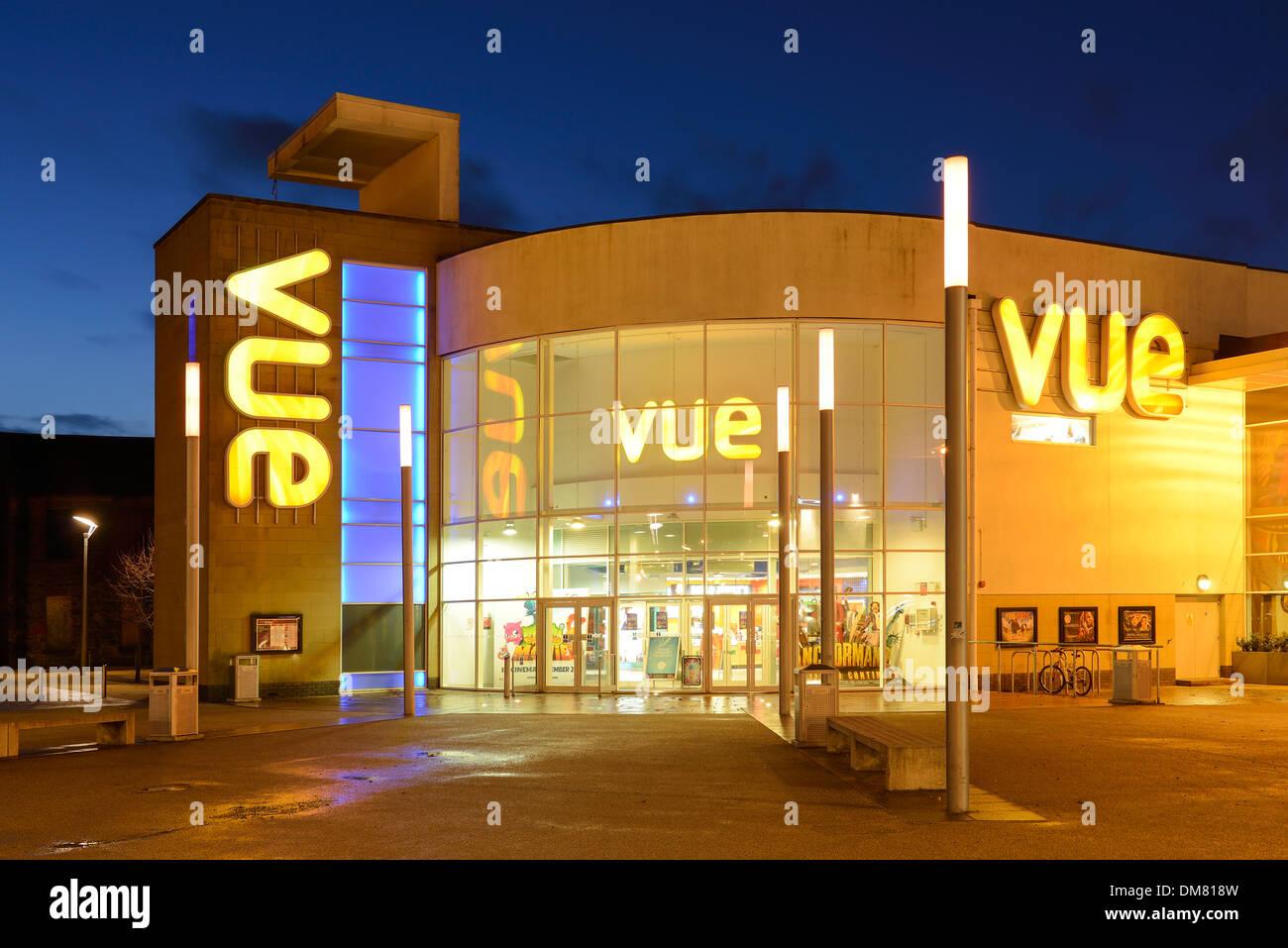 Vue cinema complex in Stirling city centre Scotland UK - Stock Image
