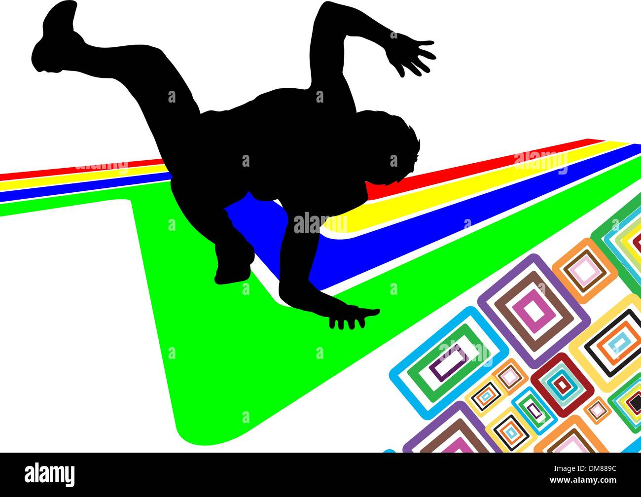 dancer - Stock Vector
