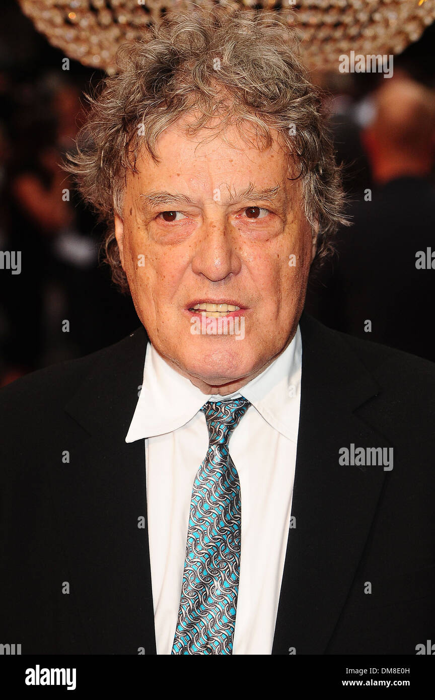 Tom Stoppard at UK premiere of 'Anna Karenina' held at Odeon Leicester Square London England - 04.09.12 - Stock Image