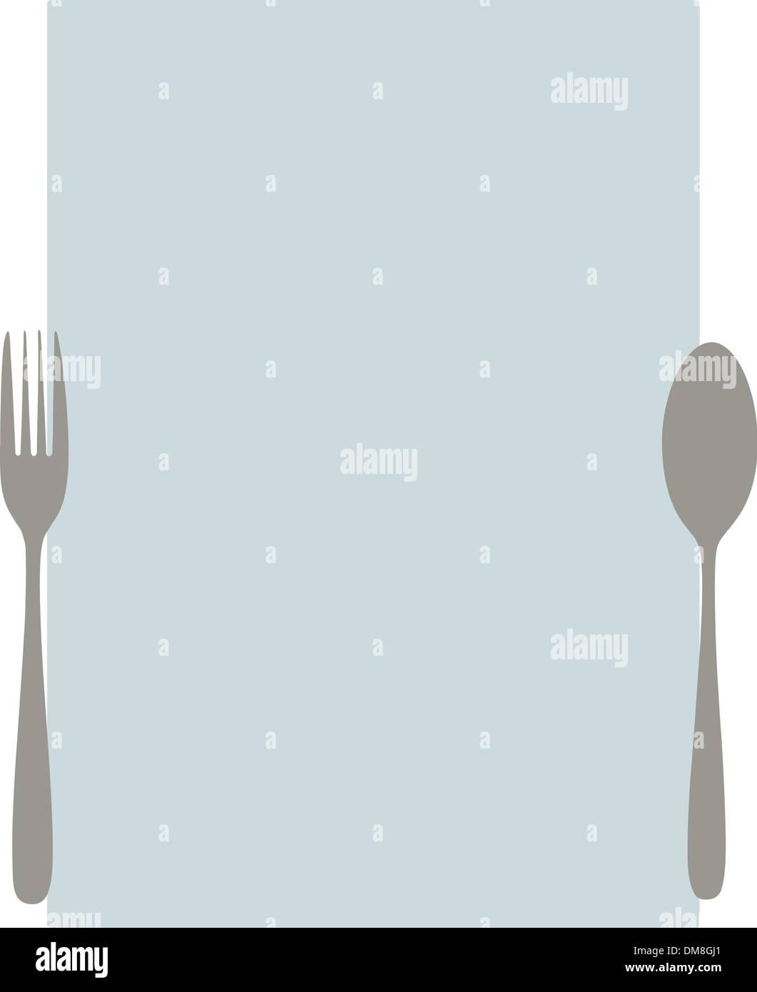 elegant blank menu template stock vector art illustration vector