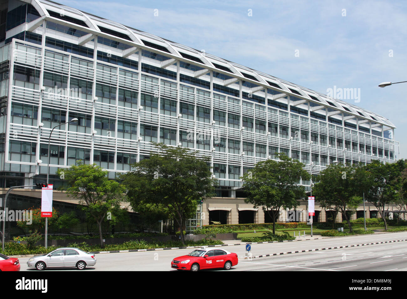 One Raffles Link office building. Singapore. - Stock Image