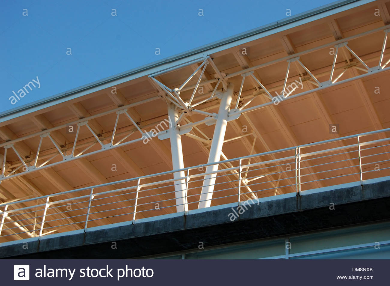 Contemporary Modern Architecture Design Steel Structure Building Stock Photo 64117051 Alamy