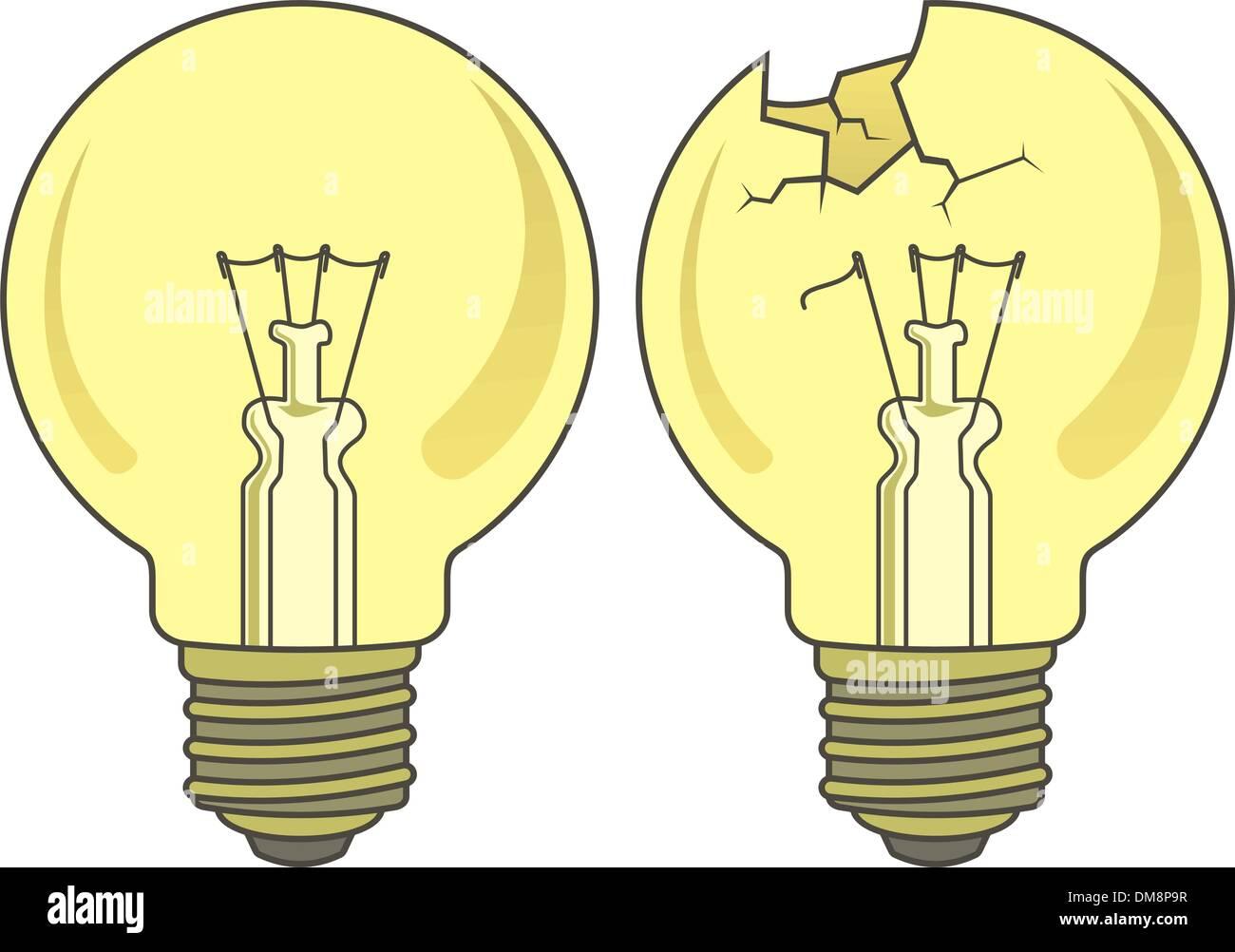 Lamp - Stock Vector
