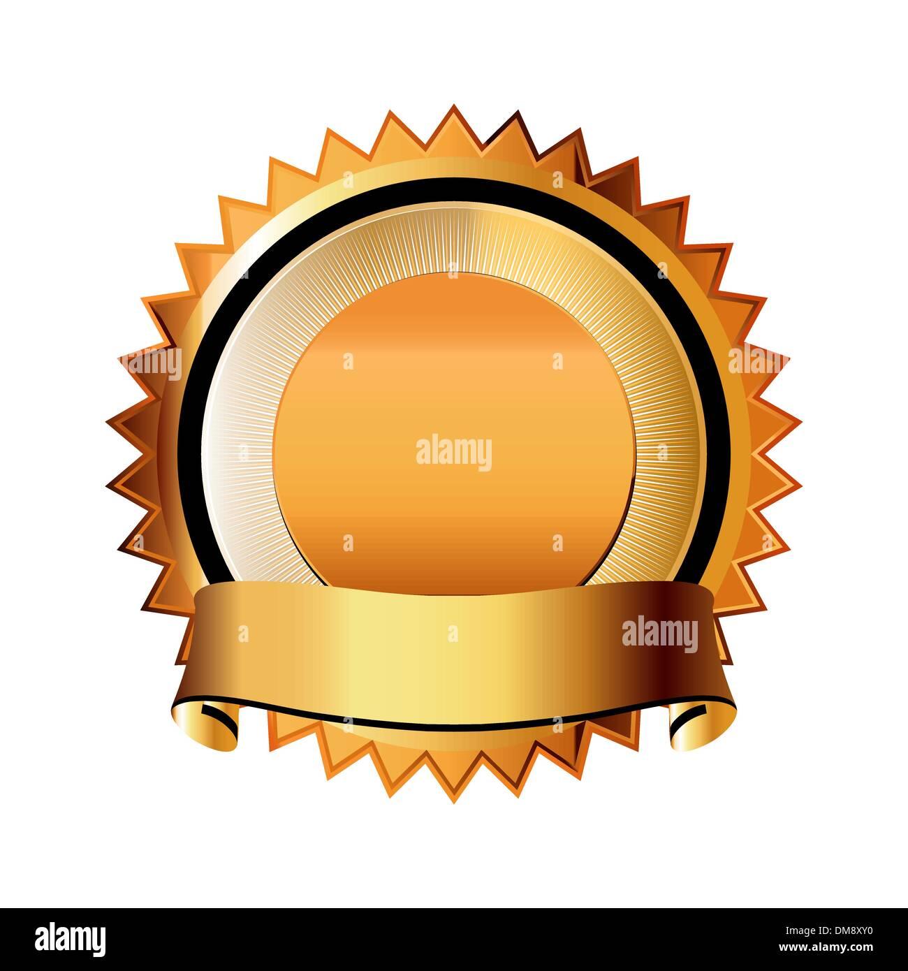 A Satisfaction Guaranteed seal. EPS 8 - Stock Image