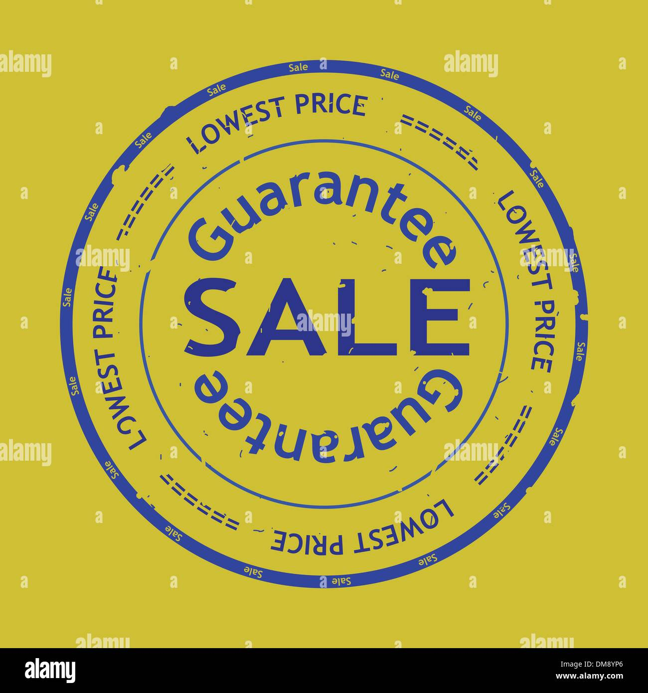 Vector Sale Grunge Rubber Stamp Stock Vector Art Illustration