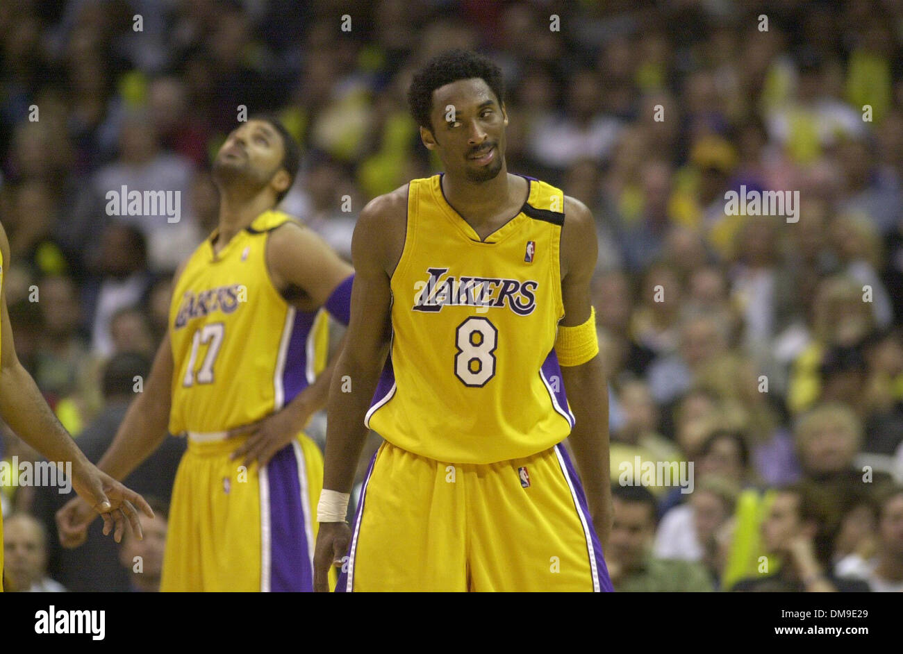 c5deaf49212 Los Angeles Laker guard Kobe Bryant knows he s the man as he winds down a  career