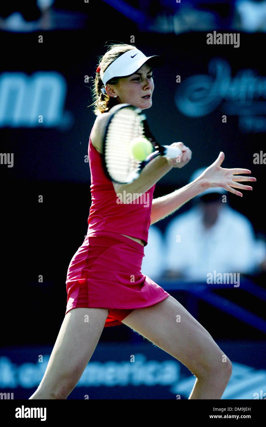 Mar 12, 2005; Indian Wells, California, USA; DANIELA HANTUCHOVA at the  Pacific Life Open Tennis - WTA - March 12th, Stock Photo