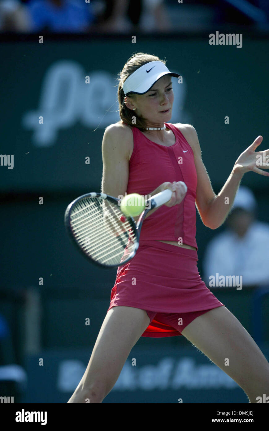 Mar 12, 2005; Indian Wells, California, USA; DANIELA HANTUCHOVA at the  Pacific Life Open Tennis - WTA - March 12th, 2005. Stock Photo