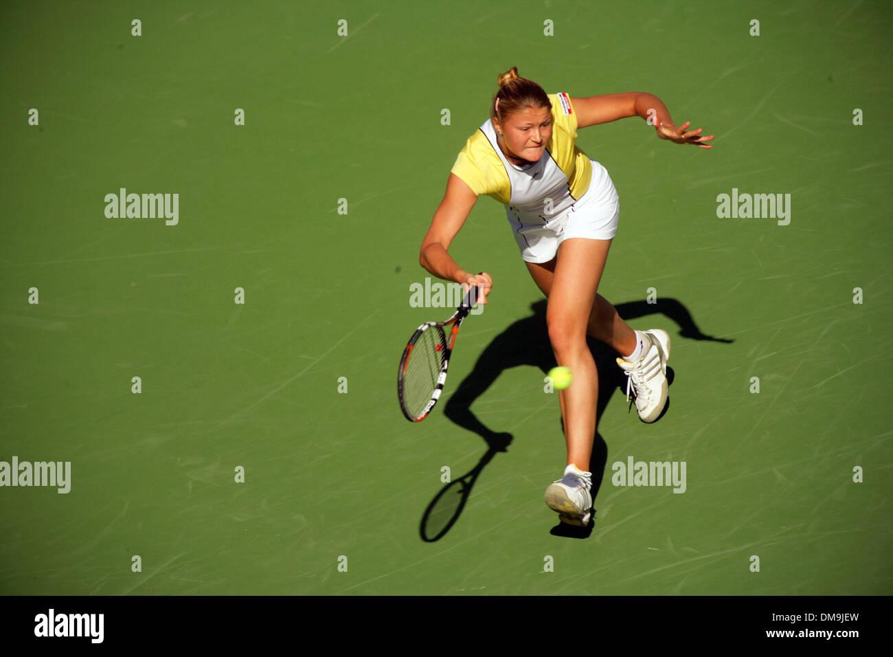 Mar 12, 2005; Indian Wells, California, USA; MARIA SHARAPOVA  at the Pacific Life Open Tennis tournament 2003. Stock Photo