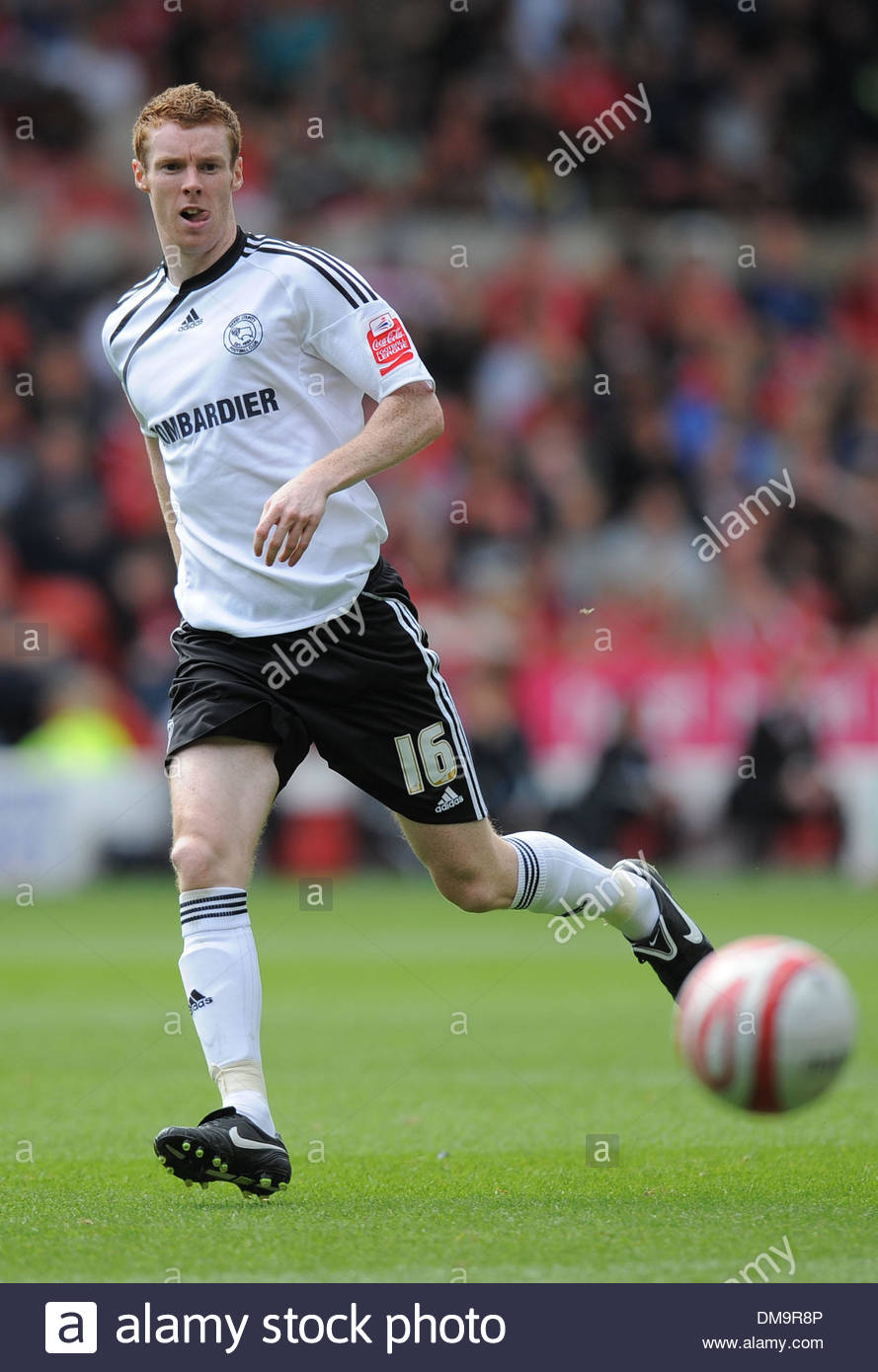 Stephen Pearson of Derby County..Coca Cola Championship..Nottingham Forest v Derby County..29th August, 2009.(Credit Stock Photo