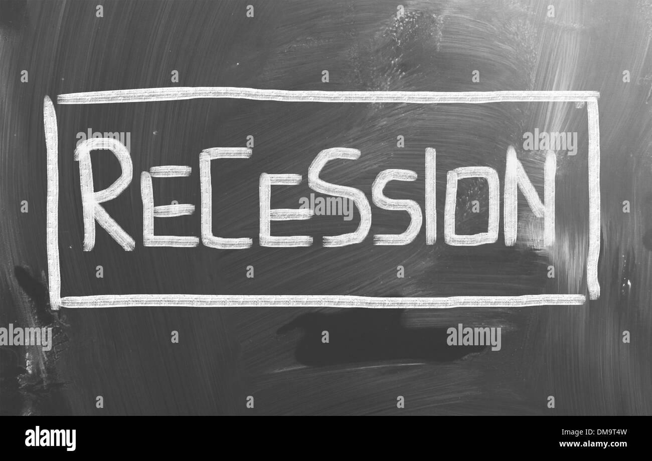 Recession Concept - Stock Image