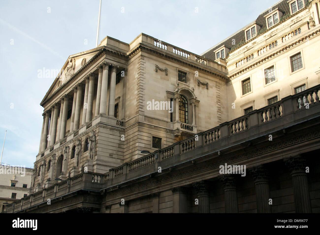 The Bank of England, London, UK - Stock Image