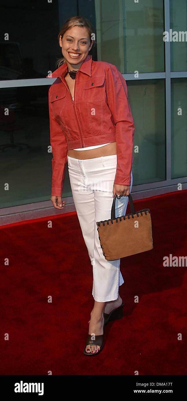 Amy Brassette sept. 30, 2002 - hollywood, california, usa - amy brassette